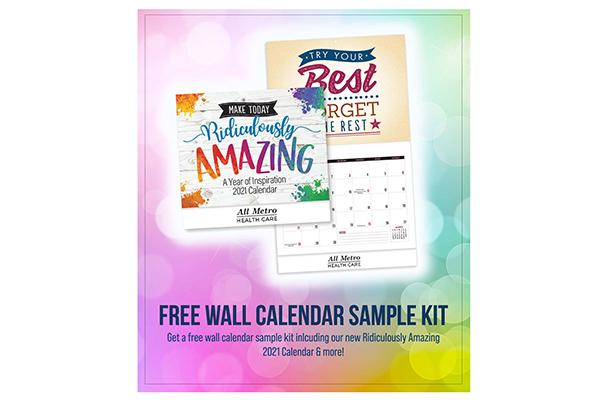 Free 2021 Amazing Wall Calendar