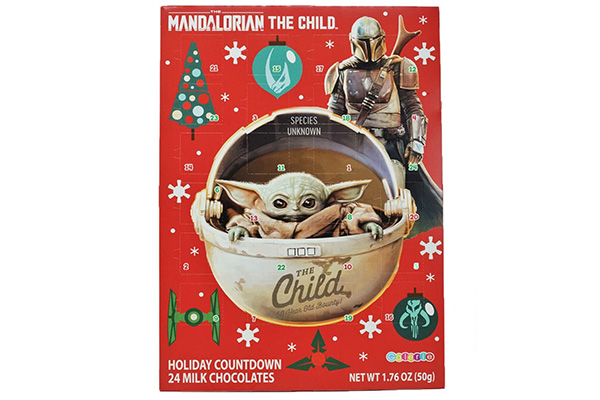Free Mandalorian Advent Calendar