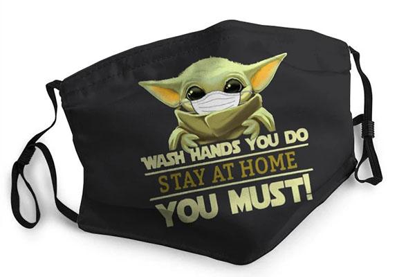 Free Baby Yoda Face Mask