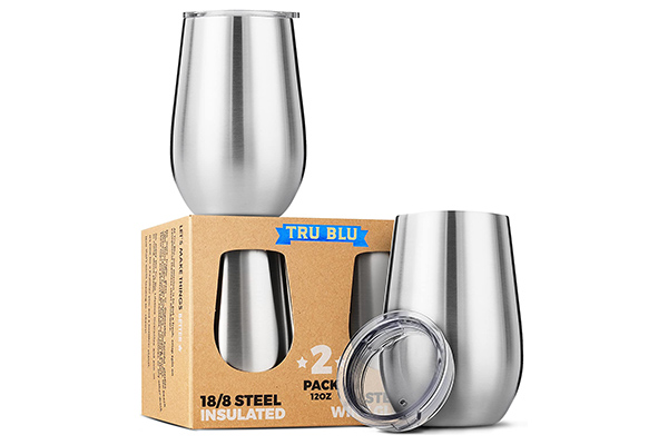 Free Stainless Steel Wine Glass