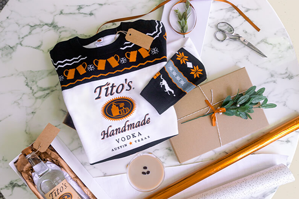 Free Tito's Christmas Sweater