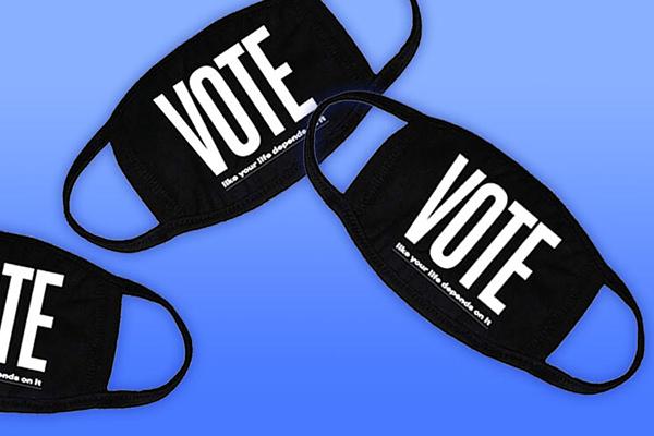 Free Vote Face Masks
