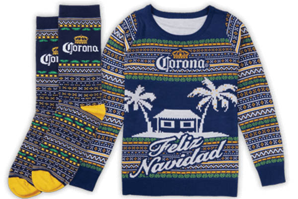Free Corona Holiday Socks