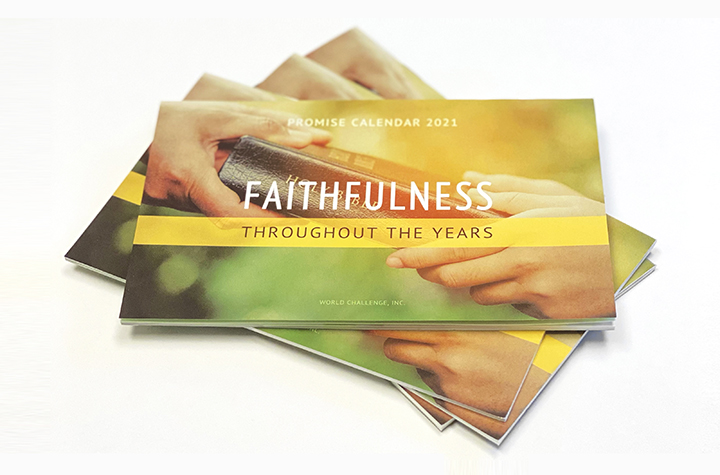 Free Faithfulness 2021 Calendar