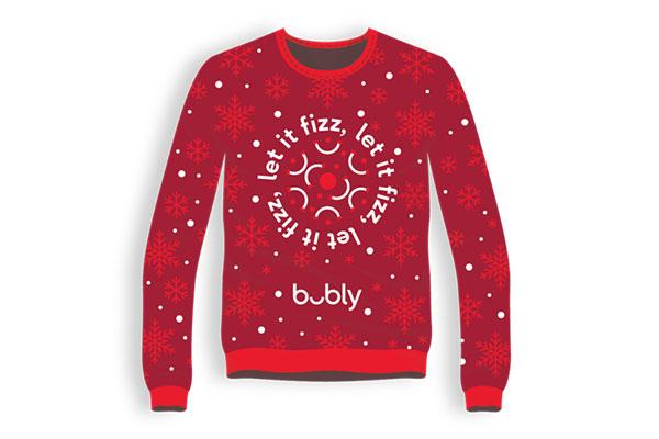 Free Bubly XMAS Sweater