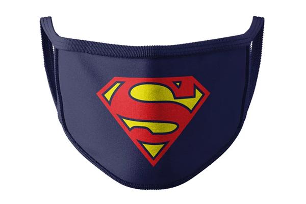 Free Superman Face Mask