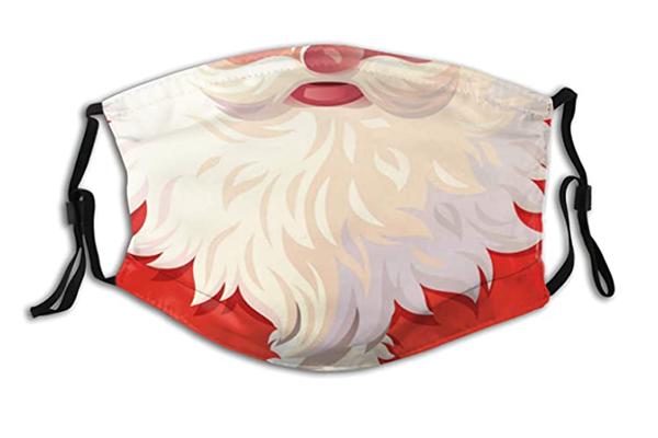 Free Santa Face Mask