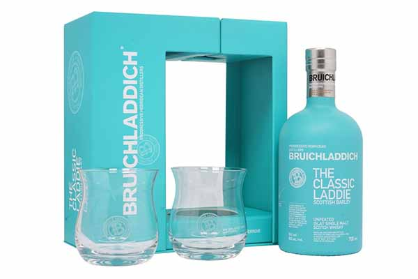 Free Bruichladdich Whisky Glass