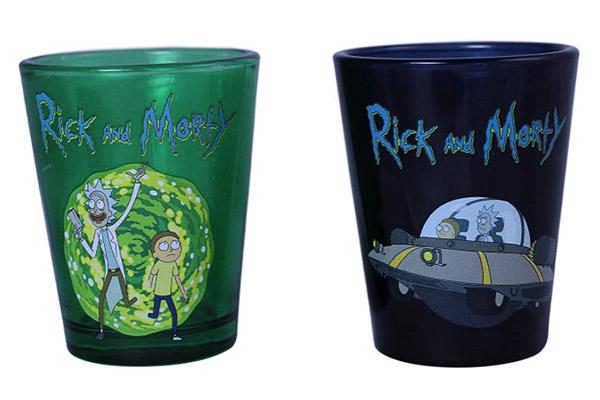 Free Rick & Morty Shot Glass
