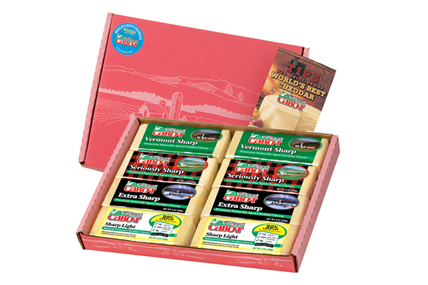 Free Cabot Cheese Gift Box