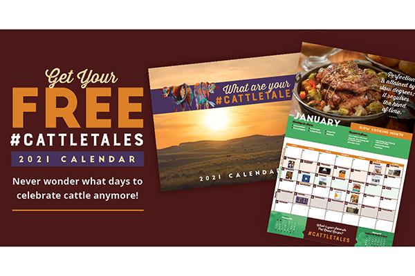Free CattleTales Calendar