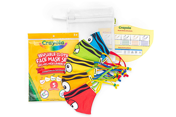 Free Crayola Kids Face Masks
