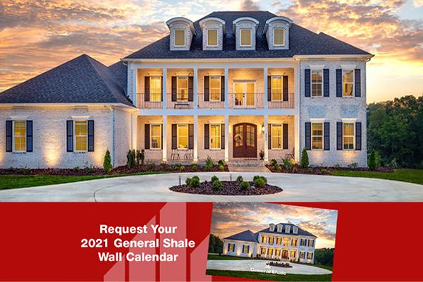 Free General Shale 2021 Calendar