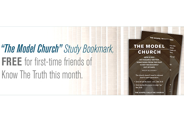 "Free ""Model Church"" Bookmark"