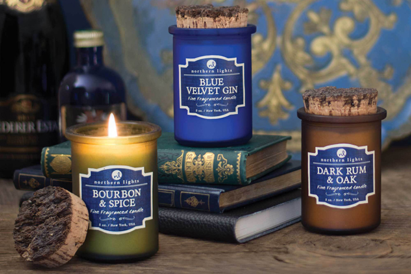 Free Northern Lights Candle