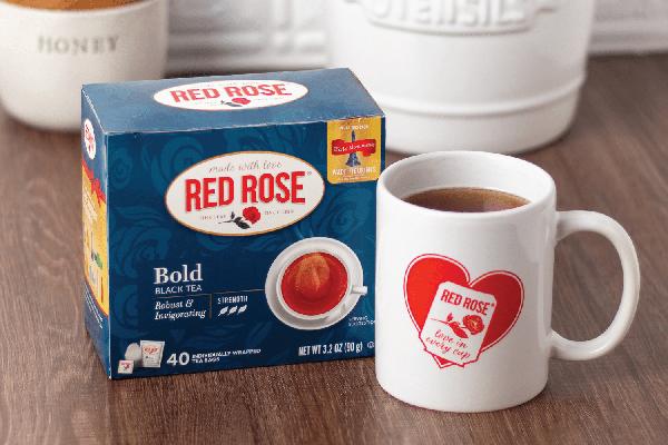 Free Red Rose Tea Mug