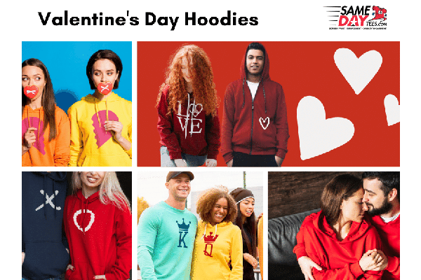Free Valentines Day Hoodies