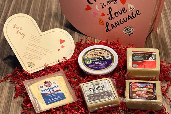 Free Wisconsin Valentines Cheese Kit