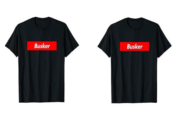 Free Busker T-Shirt