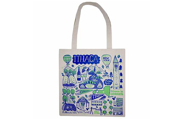 Free Ithaca Tote Bag