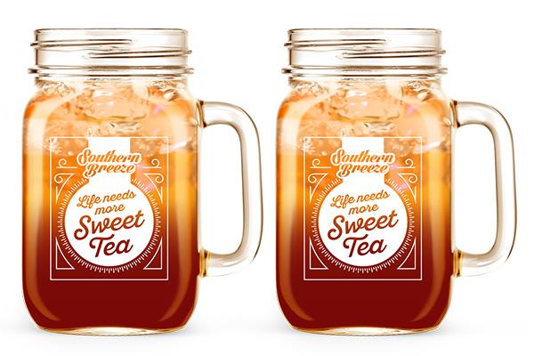 Free Southern Breeze Mason Jar
