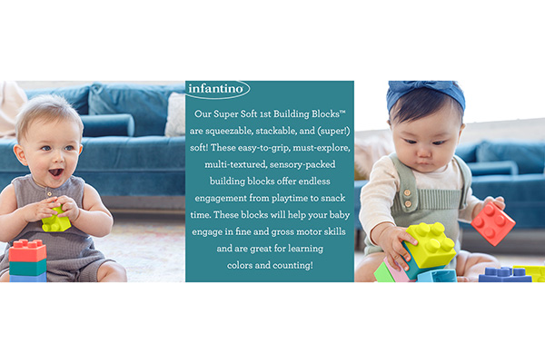 Free Super Soft 1st Building Blocks™