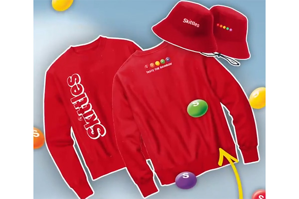 Free SKITTLES Sweater