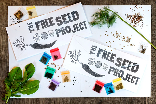 Free Rob Green Seed Pack