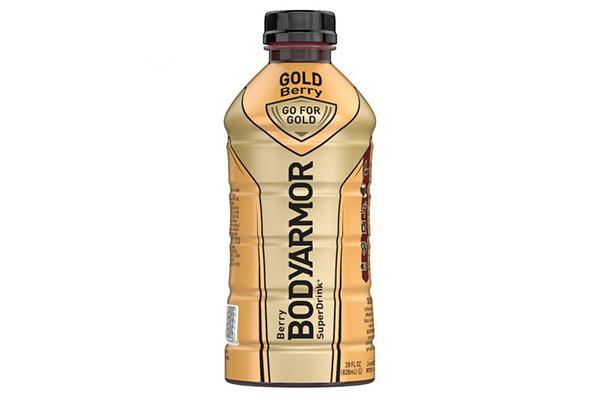 Free BODYAMOR Gold Bottle Drink