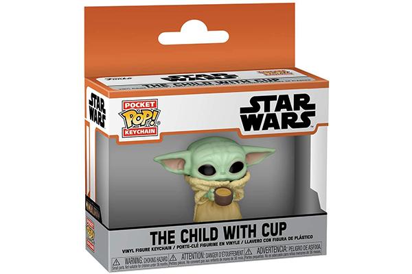 Free Baby Yoda Keychain