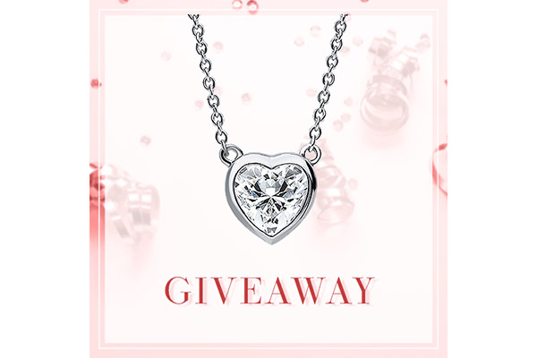 Free Berricle Heart Pendant Necklace