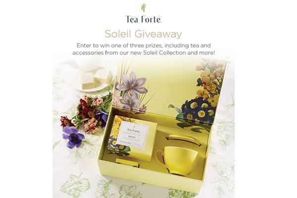Free Soleil Tea Set