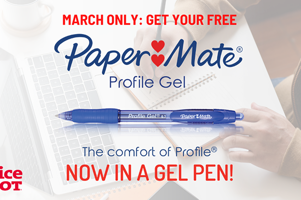 Free Paper Mate®Gel Pen