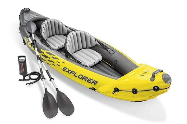 Free Inflatable Kayak Set