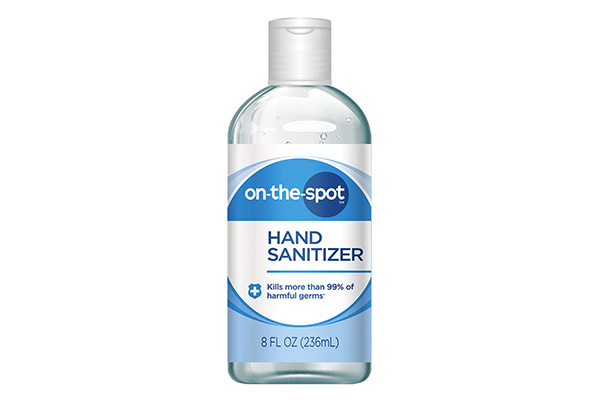 Free On-The-Spot Hand Sanitizer