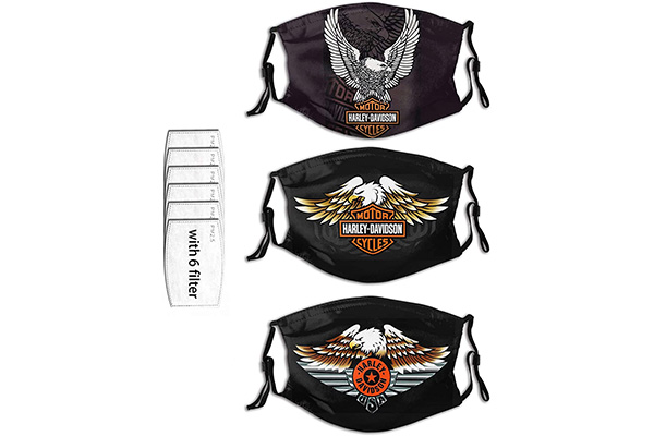 Free Harley Davidson Face Mask