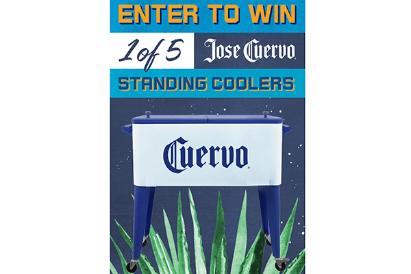 Free Jose Cuervo Standing Coolers