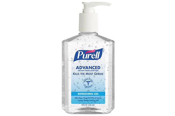 Free Purell Hand Sanitiser
