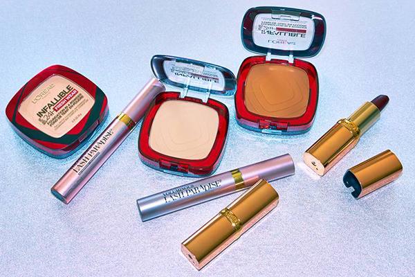 Free L'Oreal Makeup Set