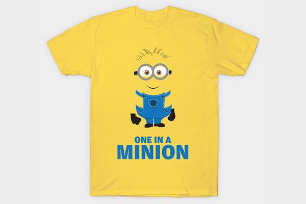 Free Minions T-Shirt