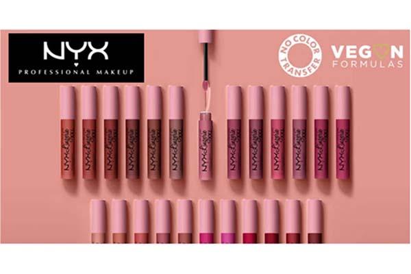 Free NYX Lipstick Set