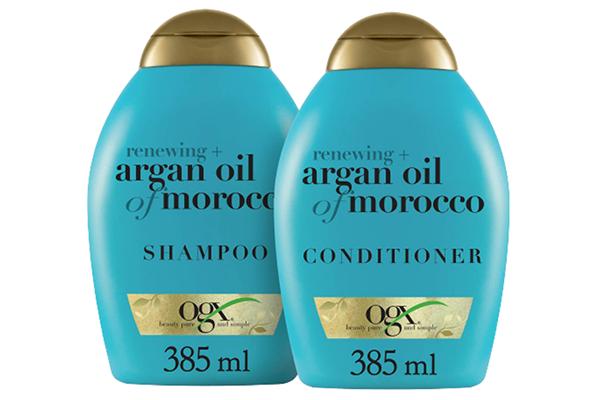 Free OGX Argan Oil Shampoo & Conditioner