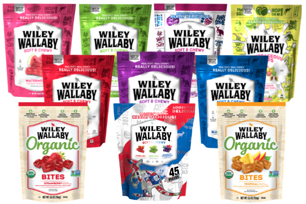 Free Wiley Wallaby Gourmet Licorice