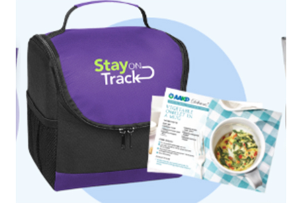 Free Stay-On-Track Lunch Bag