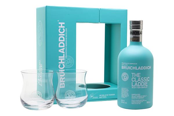 Free Bruichladdich Glass Flasks