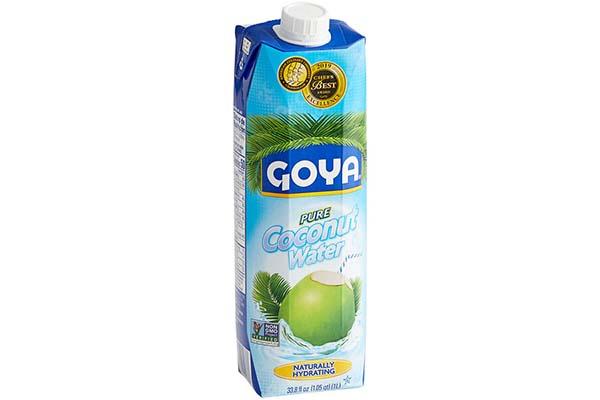 Free GOYA® Pure Coconut Water