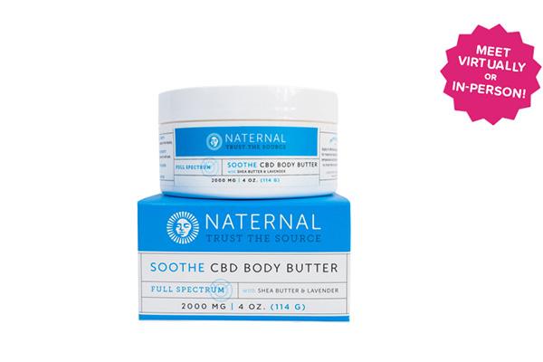 Free Naternal Soothe CBD Body Butter