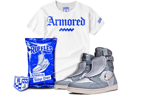 Free Ruffle Nike Sneakers