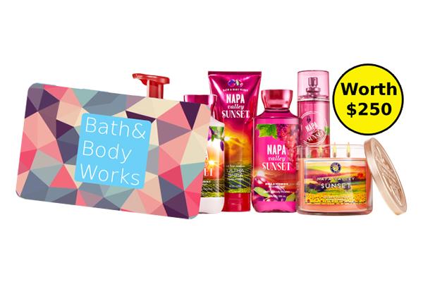 Free Bath and Body Works Set
