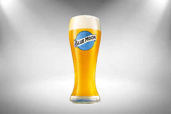 Free Blue Moon Beer Glass
